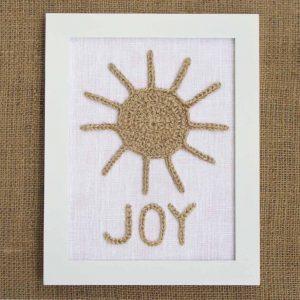 Bohotyylinen sisustustaulu Joy
