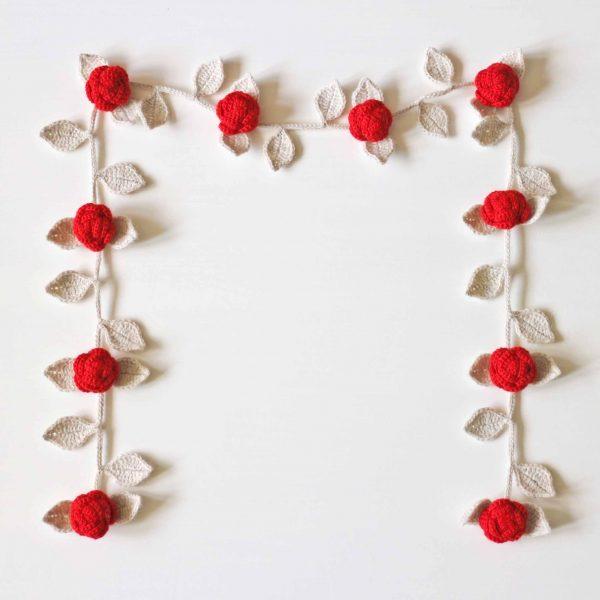 Punaruusut koristeköynnös