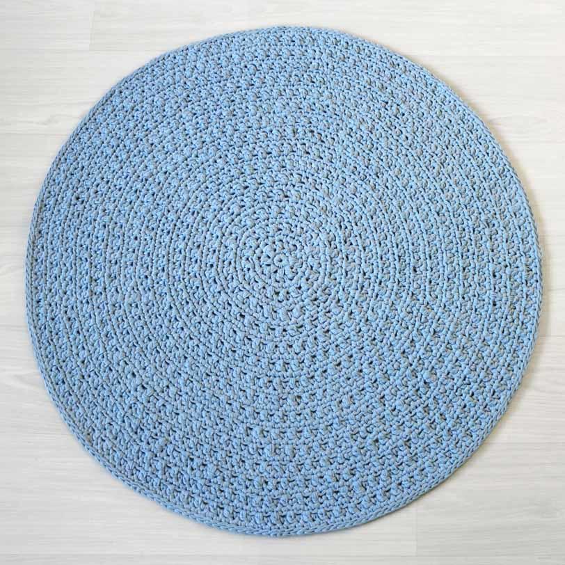 Vaaleansininen Nuku matto