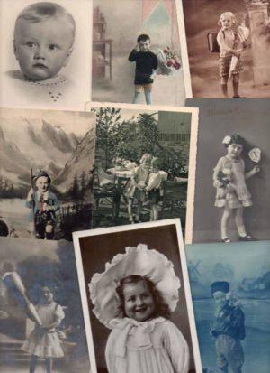 lapsiaiheisia postikortteja